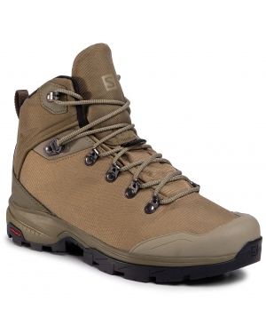 Trekkingi SALOMON - Outback 500 Gtx GORE-TEX 406925 27 G0 Burnt Olive/Mermaid/Black