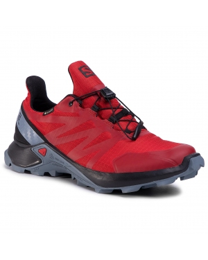 Buty SALOMON -  Supercross Gtx GORE-TEX 409178 28 V0 Barbados Cherry/Black/Flint Stone