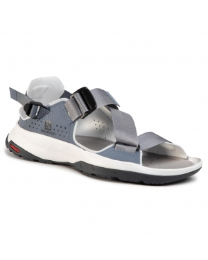 Sandały SALOMON - Tech Sandal W 410460 20 M0  Flint Stone/Heather/Ebony