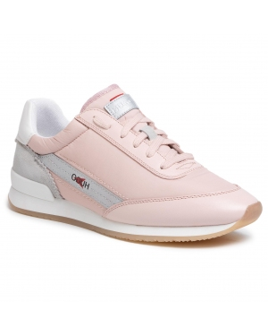 Sneakersy HUGO - Amy Lace Up 50424302 10224064 01 Light/Pastel Pink 680