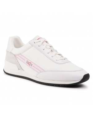 Sneakersy HUGO - Amy Lace Up 50424302 10224064 01 White 100