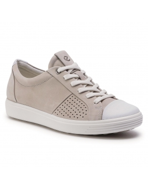 Sneakersy ECCO - Soft 7 W 43078354322  White/Concrete