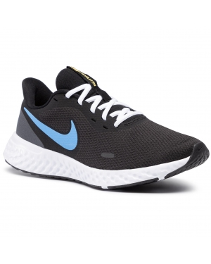 Buty NIKE - Revolution 5 BQ3204 004 Black/University Blue