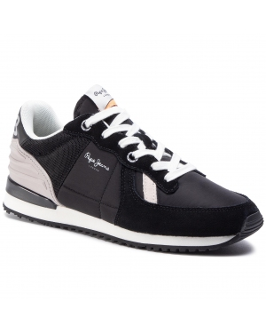 Sneakersy PEPE JEANS - Tinker Wer PMS30621 Black 999