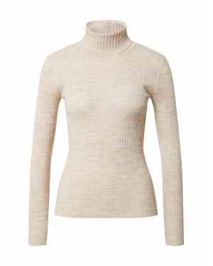 SELECTED FEMME Sweter 'COSTA'  beżowy