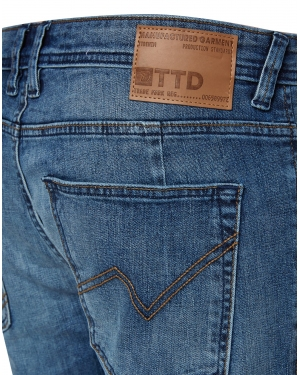 TOM TAILOR DENIM Jeansy 'Piers'  niebieski denim