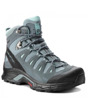 Trekkingi SALOMON - Quest Prime Gtx W GORE-TEX 404636  22 V0 Lead/Stormy Weather/Eggshell Blue