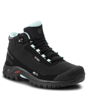 Trekkingi SALOMON - Shelter Cs Wp W 404731  21 V0 Black/Black/Eggshell Blue