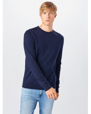 SELECTED HOMME Sweter 'BERG'  granatowy