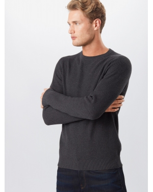 SELECTED HOMME Sweter 'Cornelius'  antracytowy