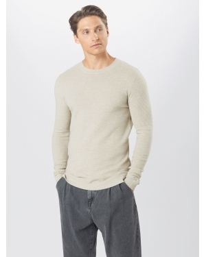 JACK & JONES Sweter  beżowy