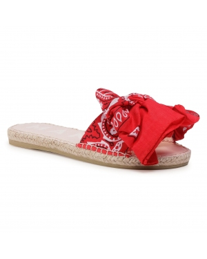 Espadryle MANEBI - Sandals With Bow F 9.4 J0 Red Bandana