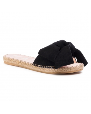 Espadryle MANEBI - Sandals With Bow K 1.0 J0  Black 1