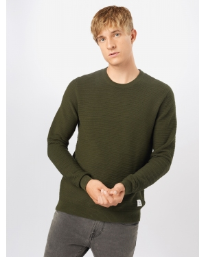 Only & Sons Sweter 'NATHAN'  ciemnozielony