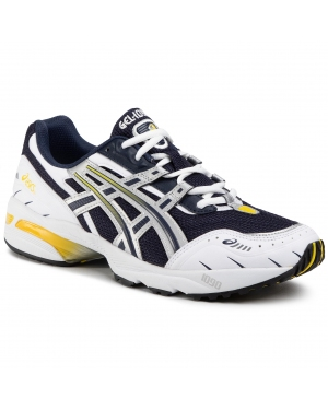 Sneakersy ASICS - Gel-1090 1021A275  Midnight/Pure Silver 400