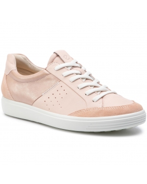 Sneakersy ECCO - Soft 7 W 43072351325 Rose Dust/Rose Dust/Powder