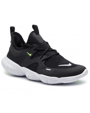 Buty NIKE - Free Rn 5.0 (GS) AR4143 001 Black/White/Anthracite/Volt
