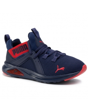 Sneakersy PUMA - Enzo 2 Weave Jr 193165 08 Peacoat/High Risk Red