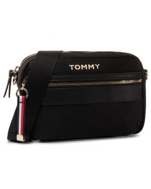 Torebka TOMMY HILFIGER - Nylon Crossover AW0AW08510 BDS