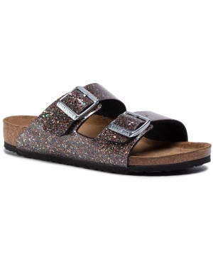 Klapki BIRKENSTOCK - Arizona Kids 1017382  Cosmic Sparkle Black Multi