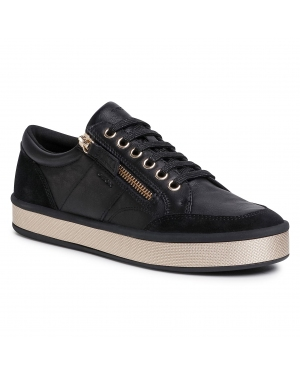 Sneakersy GEOX - D Leelu' E D94FEE 08522 C9997 Black