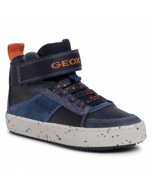 Sneakersy GEOX - J Alonisso B. C J042CC 022BU C0659 Navy/Orange