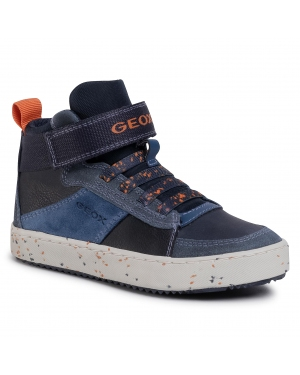 Sneakersy GEOX - J Alonisso B. C J042CC 022BU C0659 S Navy/Orange