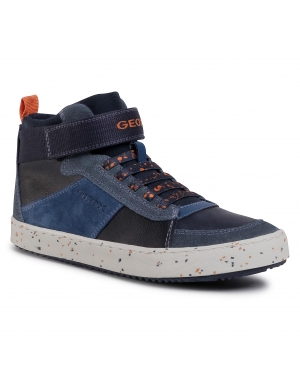 Sneakersy GEOX - J Alonisso B. C J042CC 022BU C0659 D Navy/Orange