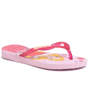 Japonki HAVAIANAS - Kids Slim Princess 41233287818 Cream Rose/Lollip