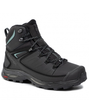 Trekkingi SALOMON - X Ultra Mid Winter Cs Wp W 404796 21 V0 Black/Phantom/Trellis