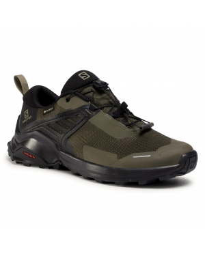Trekkingi SALOMON - X Raise Gtx GORE-TEX 410416 27 M0 Grape Leaf/Black/Black
