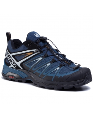 Trekkingi SALOMON - X Ultra 3 411399 27 M0 Dark Denim/Black/Cumin