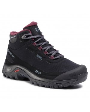 Trekkingi SALOMON - Shelter Cs Wp W 411105 21 V0 Black/Ebony/Winetasting