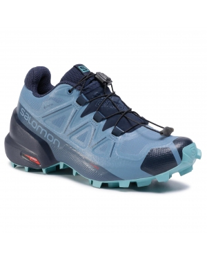 Buty SALOMON - Speedcross 5 Gtx W GORE-TEX 411175 20 G0 Copen Blue/Navy Blazer/Meadowbrook