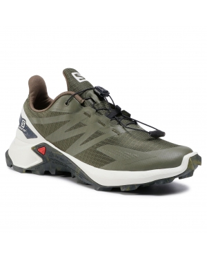 Buty SALOMON - Supercross Blast 411071 27 W0 Olive Night/Vanilla Ice/Ebony