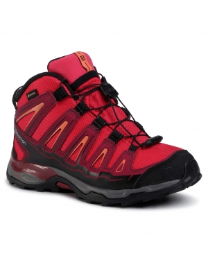 Trekkingi SALOMON - X-Ultra MId Gtx J GORE-TEX 398651 12 W0  Virtual Pink/Beet Red/Living Coral