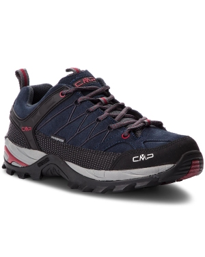Trekkingi CMP - Rigel Low Trekking Shoes Wp 3Q13247 Asphalt/Syrah 62BN