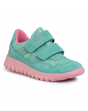 Sneakersy SUPERFIT - 6-09191-71 S Grün/Rosa