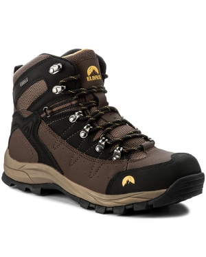 Trekkingi ELBRUS - Talon Mid Wp Dark Brown