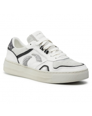 Sneakersy CRIME LONDON - Low Top Off Court 25101AA3.10 White