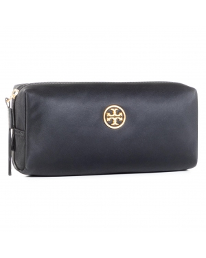 Kosmetyczka TORY BURCH - Piper Long Cosmetic Case 75370 Black 001