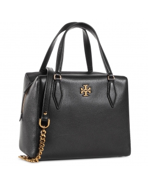 Torebka TORY BURCH - Kira Pebbled Stachel 74650 Black 001