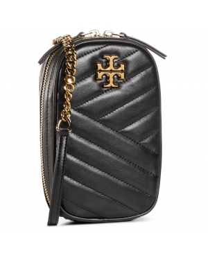Torebka TORY BURCH - Kira Chevron N/S Crossbody 73515 Black 001