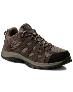 Trekkingi COLUMBIA - Canyon Point Waterproof YM5416 Mud/Red Element 255
