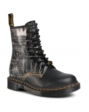 Glany DR. MARTENS - 1460 Basquiat 26319009 Black/White