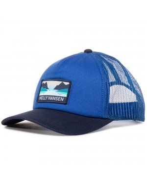 Czapka z daszkiem HELLY HANSEN - Trucker Cap 67435 Royal Blue 514