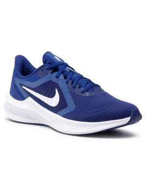 Buty NIKE - Downshifter 10 CI9981 401 Deep Royal Blue/White