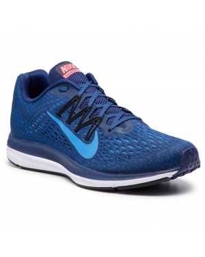 Buty NIKE - Zoom Winflo 5 AA7406 405 Blue Void/Photo Blue
