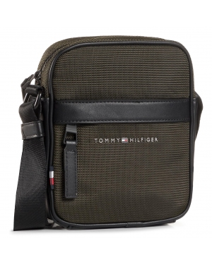 Saszetka TOMMY HILFIGER - Elevated Nylon Mini Reporter AM0AM06472 MSH