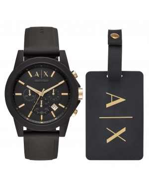 Zegarek ARMANI EXCHANGE - Outerbanks AX7105  Black/Black